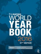 THE EUROPA WORLD YEAR BOOK 2016, 57TH EDITION