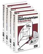 ATLAS OF CRYSTAL STRUCTURE TYPES FOR INTERMETALLIC PHASES, 4 VOL SET