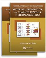 THERMOELECTRICS AND ITS ENERGY HARVESTING, 2 VOLUME SET