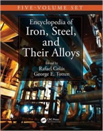 ENCYCLOPEDIA OF IRON, STEEL, AND THEIR ALLOYS, FIVE-VOLUME SET