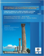 PROCEESDINGS OF THE 15TH EUROPEAN CONFERENCE ON SOIL MECHANICS AND GEOTECHNICAL ENGINEERING (3 VOL SET)