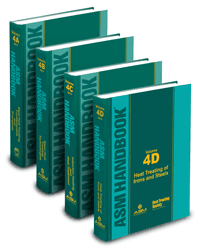 ASM HANDBOOK VOLUMES 4A,4B,4C,4D HEAT TREATING SET
